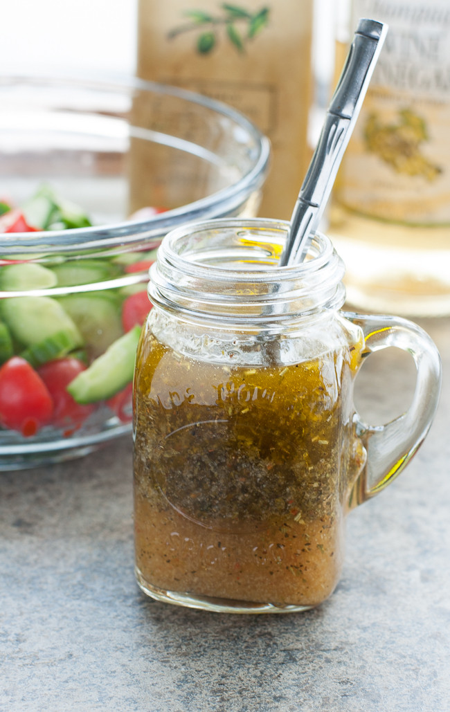 Best ideas about DIY Italian Dressing . Save or Pin Easy Homemade Italian Dressing Now.