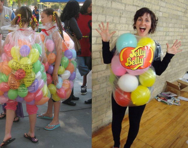 Best ideas about DIY Jelly Bean Costume . Save or Pin 20 of Our Favorite Homemade Halloween Costumes Now.