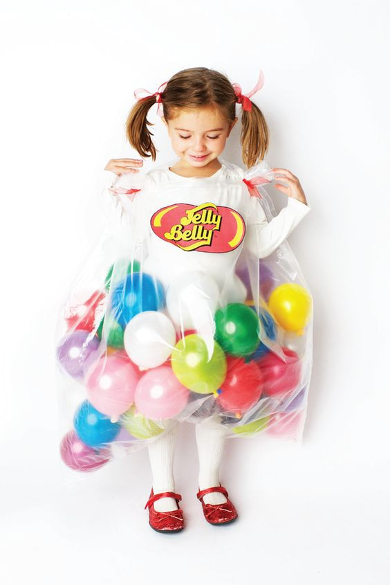 Best ideas about DIY Jelly Bean Costume . Save or Pin 14 Unique Homemade Halloween Costumes Pretty My Party Now.