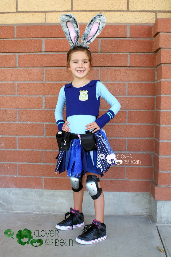 Best ideas about DIY Judy Hopps Costume . Save or Pin Judy Hopps DIY Disney Costumes For Kids Now.