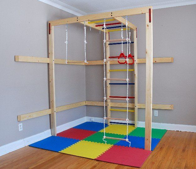 Best ideas about DIY Jungle Gym . Save or Pin DIY Home Jungle Gym for Kids wood sold separately Now.