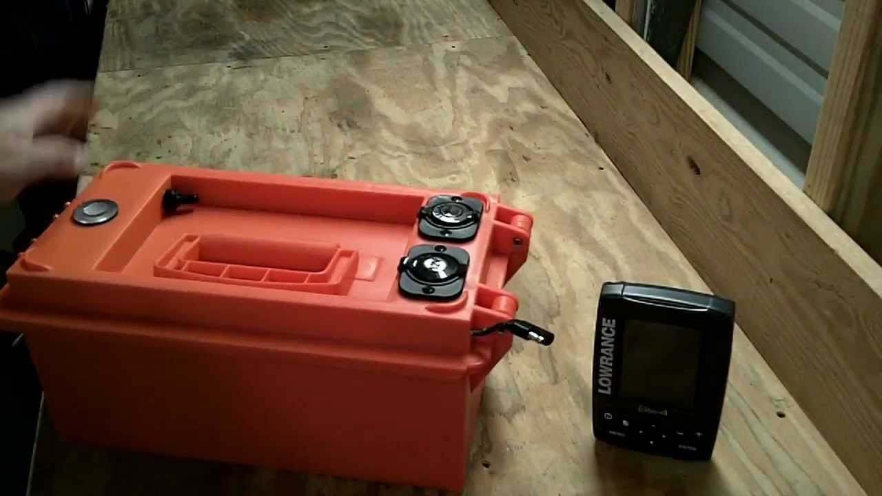 Best ideas about DIY Kayak Battery Box . Save or Pin Kayak Fish Finder 12volt Portable Power Box How To Build Now.