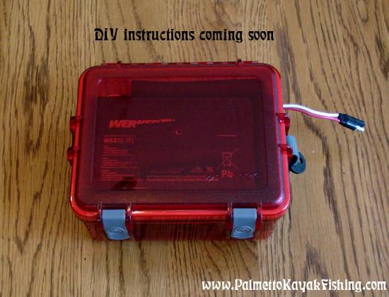 Best ideas about DIY Kayak Battery Box . Save or Pin Palmetto Kayak Fishing DIY Kayak Fish Finder Install Now.