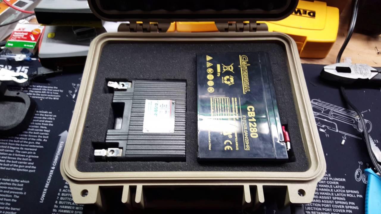 Best ideas about DIY Kayak Battery Box . Save or Pin Pelican 1200 Case Pontoon Kayak Battery Box DIY Now.