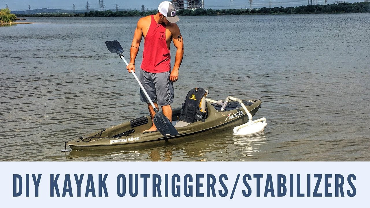 Best ideas about DIY Kayak Outriggers . Save or Pin DIY CHEAP KAYAK OUTRIGGERS STABILIZERS SIT ON KAYAK TO Now.