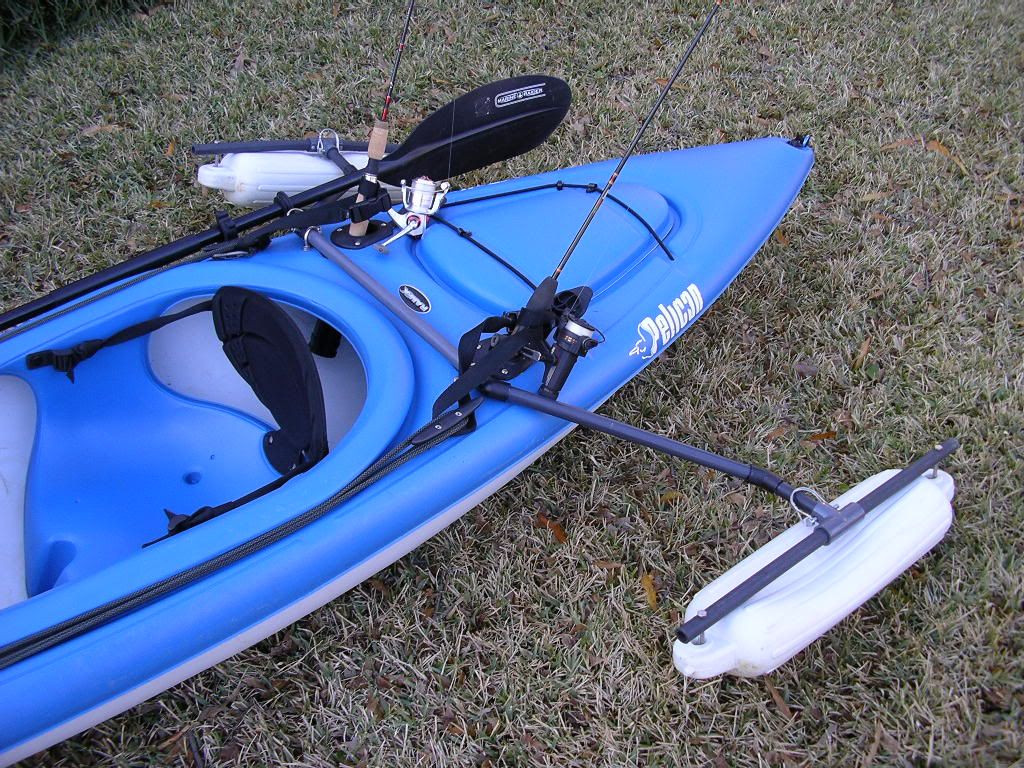 Best ideas about DIY Kayak Outriggers . Save or Pin Anyone designed a outrigger system Now.