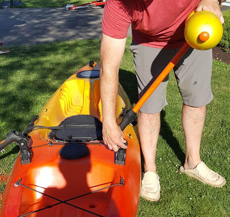 Best ideas about DIY Kayak Outriggers . Save or Pin Build These DIY Kayak Outriggers for Under $60 GearCloud Now.