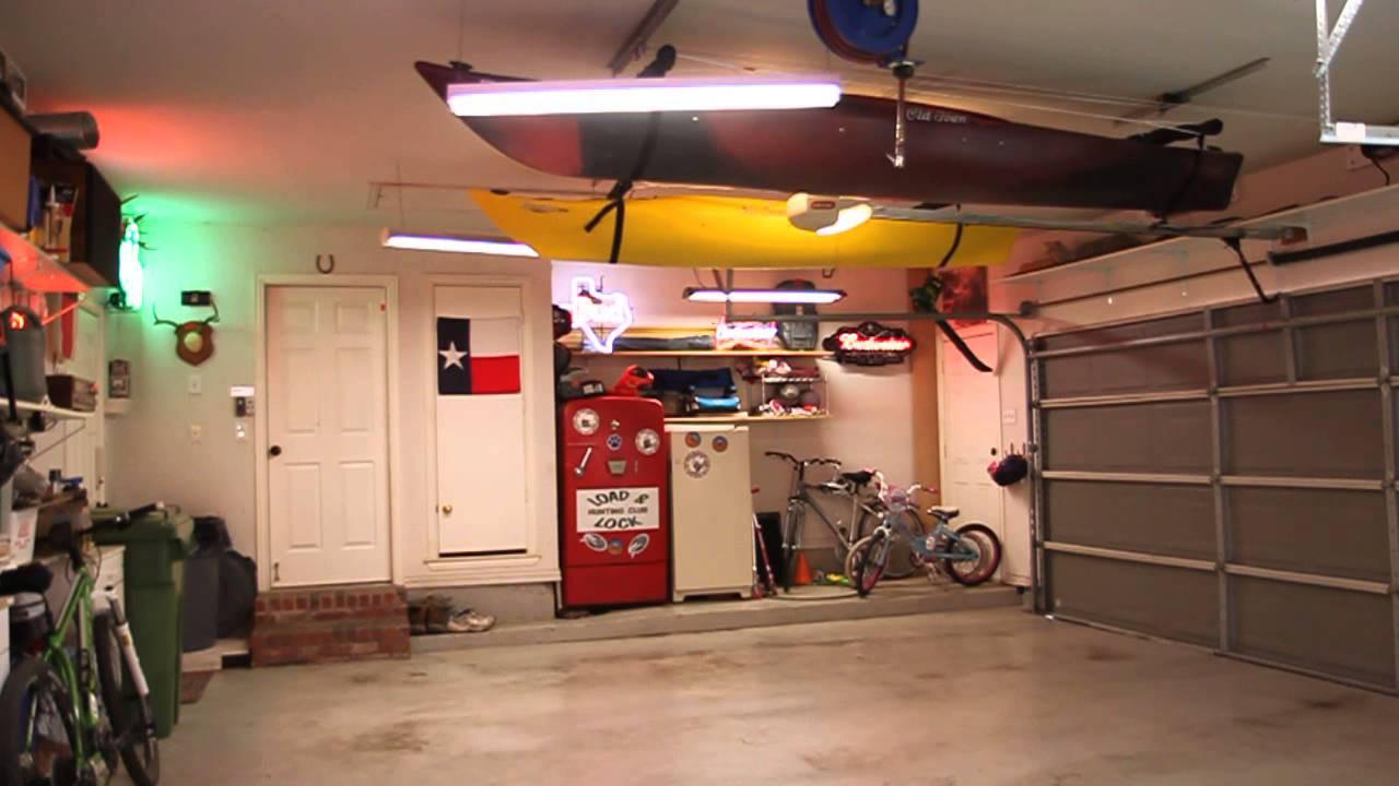Best ideas about DIY Kayak Rack Ceiling . Save or Pin Kayak Hoist Storage Now.