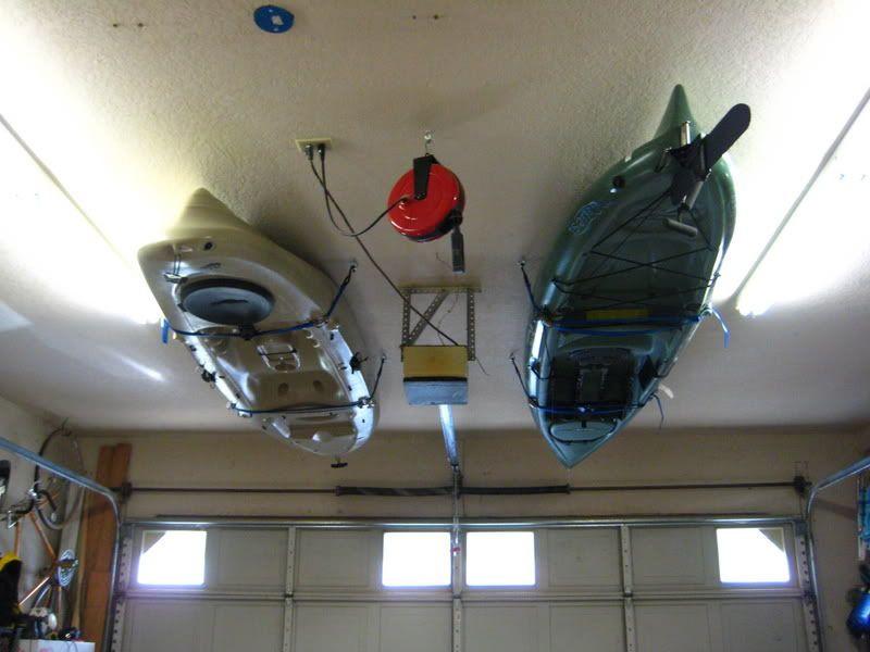 Best ideas about DIY Kayak Rack Ceiling . Save or Pin Kayak Storage on Pinterest Now.