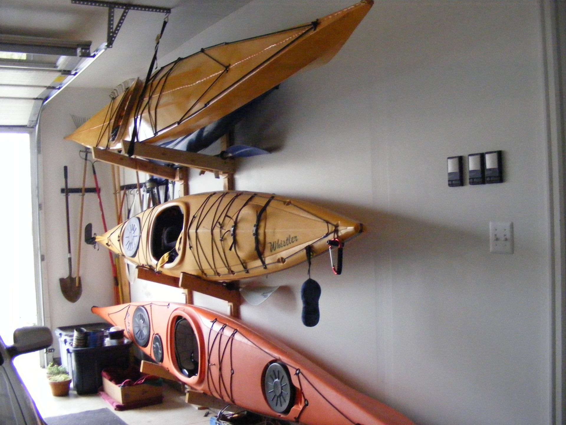 Best ideas about DIY Kayak Rack Ceiling . Save or Pin How To Create Kayak Garage Storage in 2019 Now.