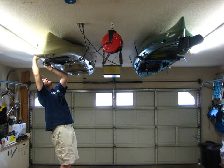 Best ideas about DIY Kayak Rack Ceiling . Save or Pin 24 best images about Kayak and Gad s on Pinterest Now.