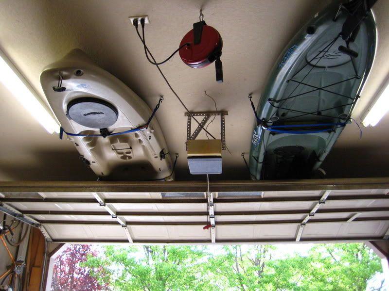 Best ideas about DIY Kayak Rack Ceiling . Save or Pin Kayak Garage Storage How To Kayaking Now.