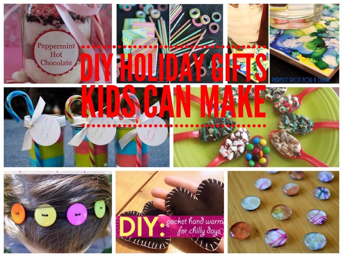 Best ideas about DIY Kid Christmas Gifts . Save or Pin Simple DIY Gifts Kids Can Make for the Holidays Now.