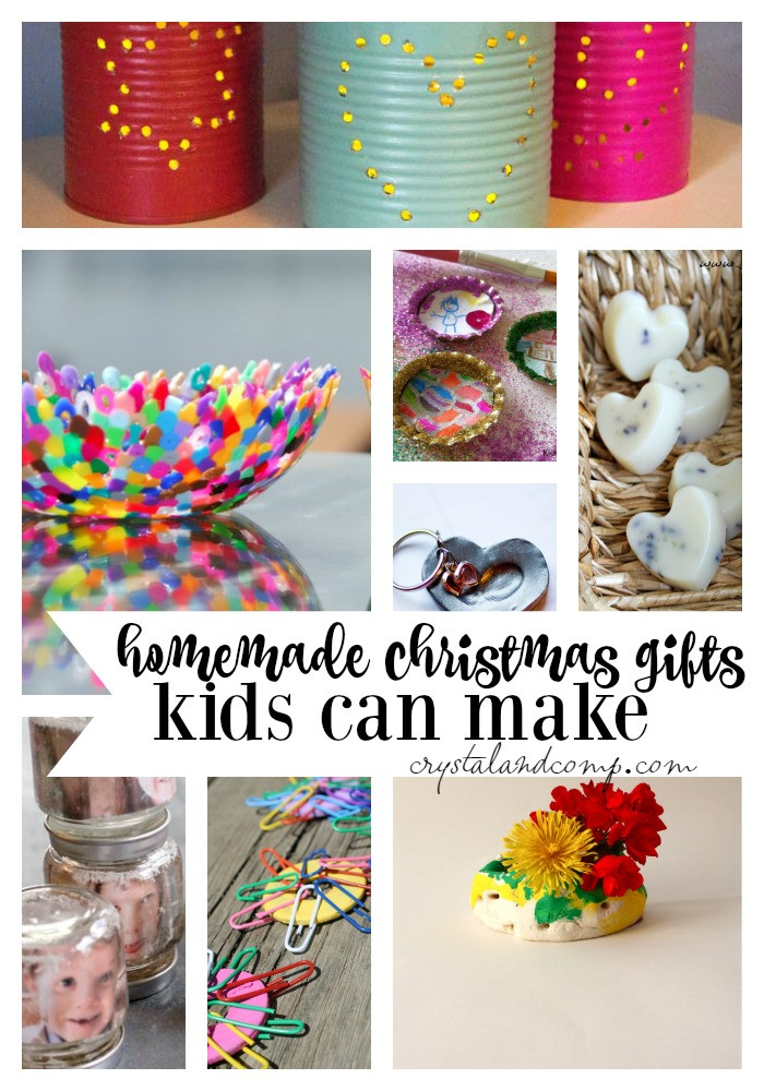 Best ideas about DIY Kid Christmas Gifts . Save or Pin 25 Homemade Christmas Gifts Kids Can Make Now.