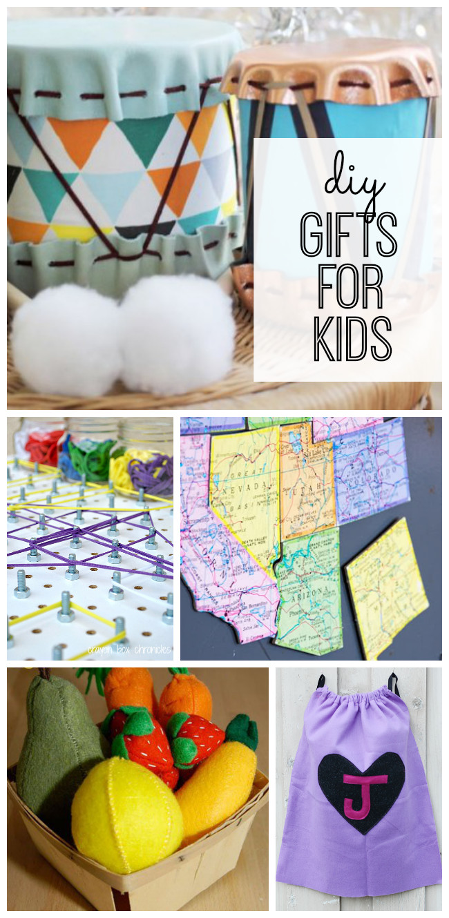 Best ideas about DIY Kid Christmas Gifts . Save or Pin DIY Gifts for Kids My Life and Kids Now.