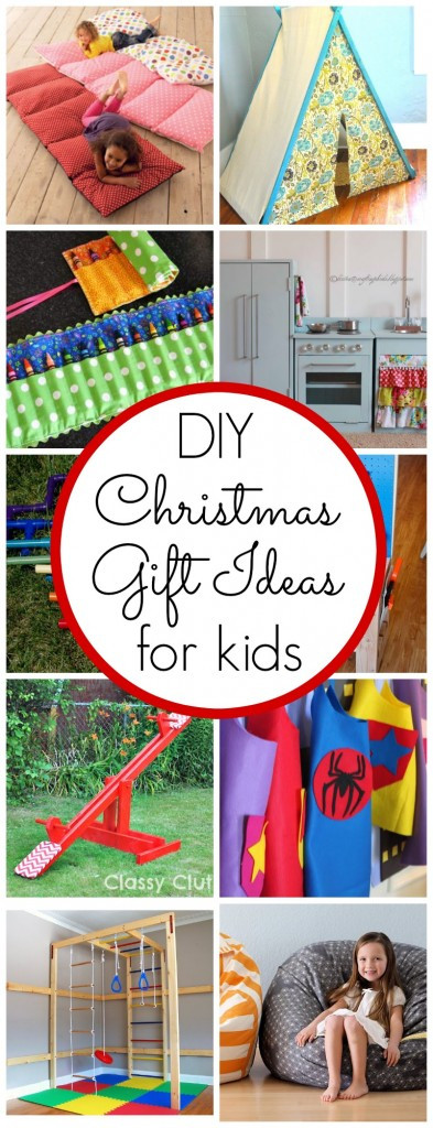 Best ideas about DIY Kid Christmas Gifts . Save or Pin DIY Kids Christmas Gift Ideas Classy Clutter Now.