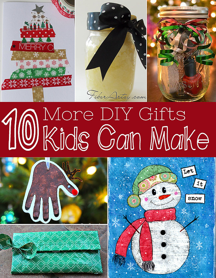 Best ideas about DIY Kid Christmas Gifts . Save or Pin Ten More Gifts Kids Can Make DIY Christmas Gifts Now.
