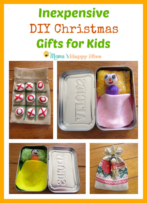 Best ideas about DIY Kid Christmas Gifts . Save or Pin Inexpensive DIY Christmas Gifts for Kids Mama s Happy Hive Now.