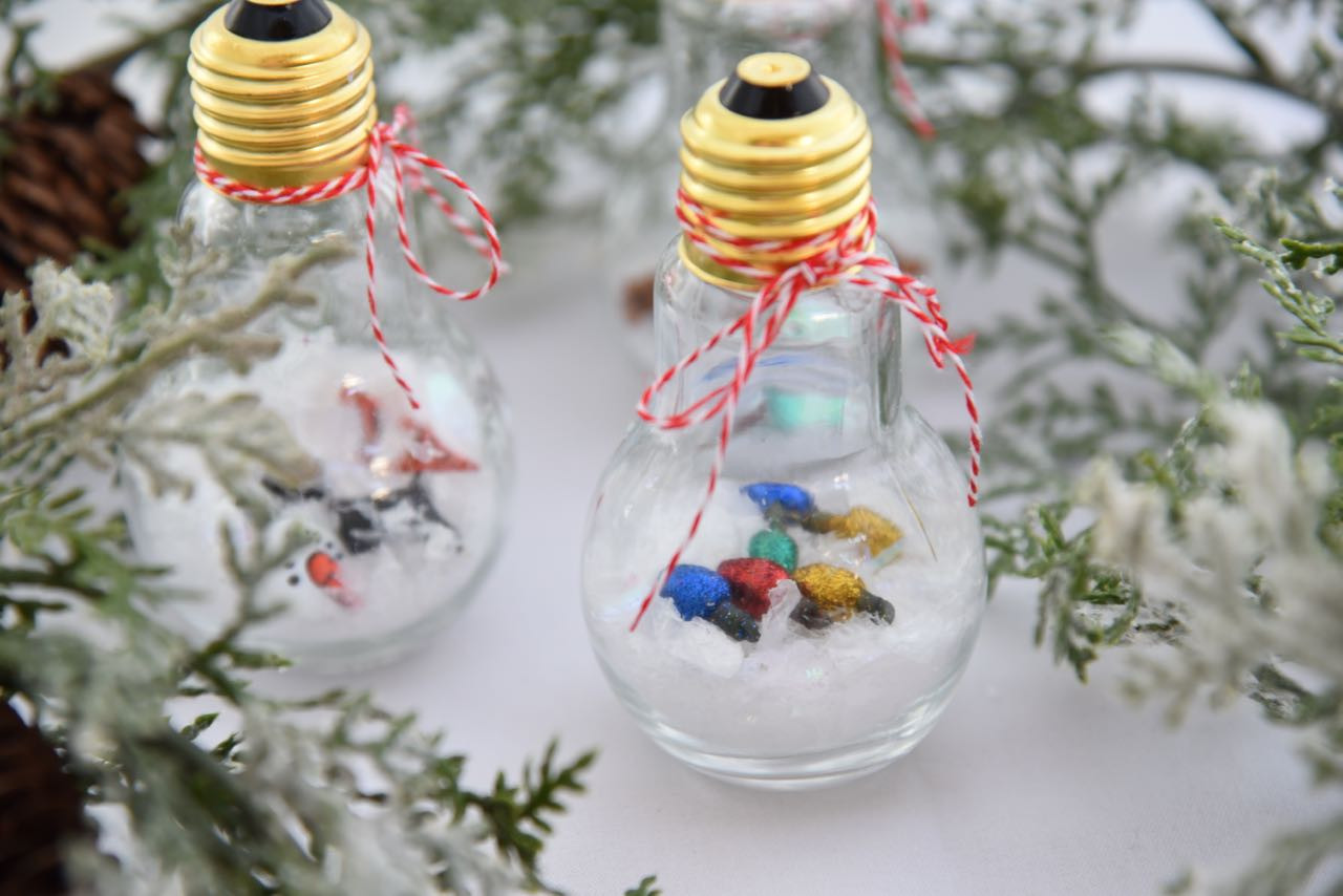 Best ideas about DIY Kid Friendly Christmas Ornaments . Save or Pin DIY Snow Globe Ornaments Now.