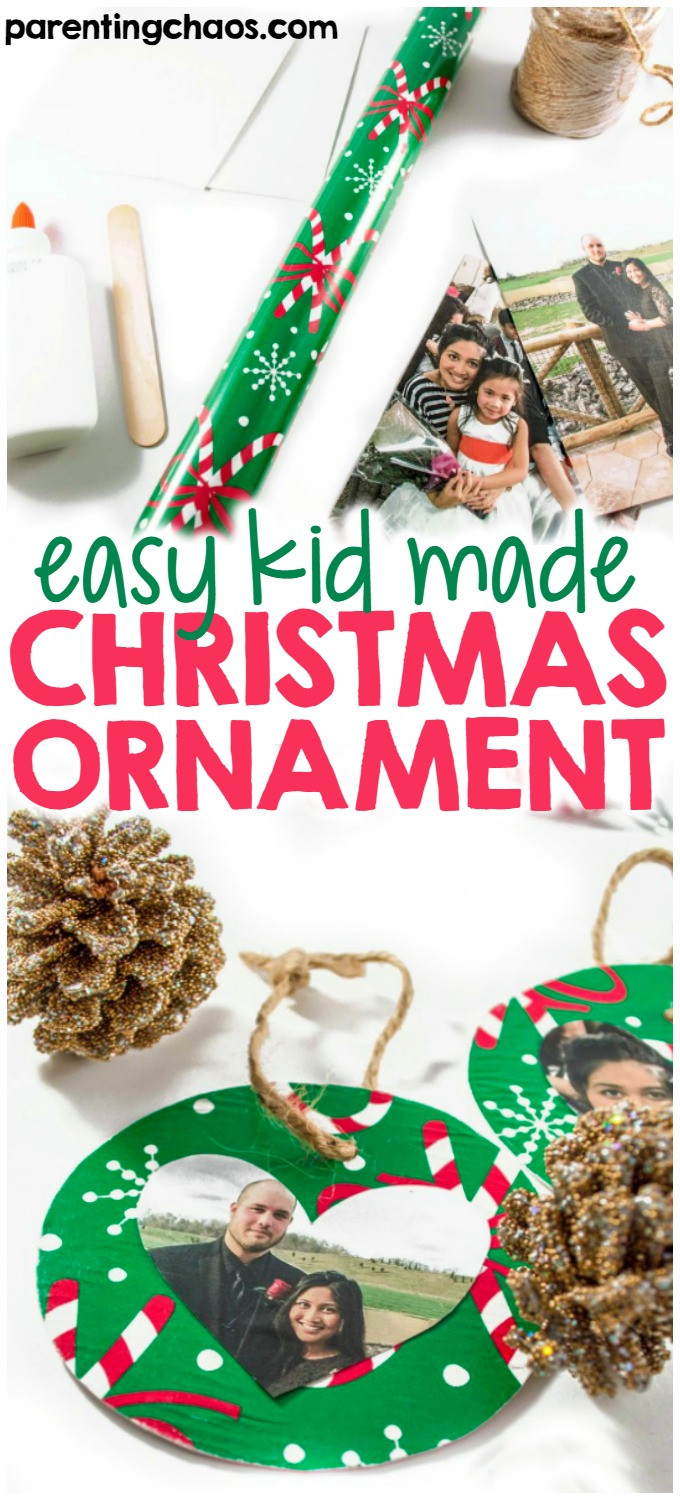 Best ideas about DIY Kid Friendly Christmas Ornaments . Save or Pin Kid Friendly DIY Ornament ⋆ Parenting Chaos Now.