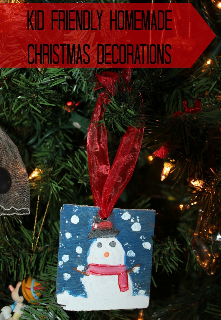 Best ideas about DIY Kid Friendly Christmas Ornaments . Save or Pin DIY Christmas Decorations House of Fauci s Now.