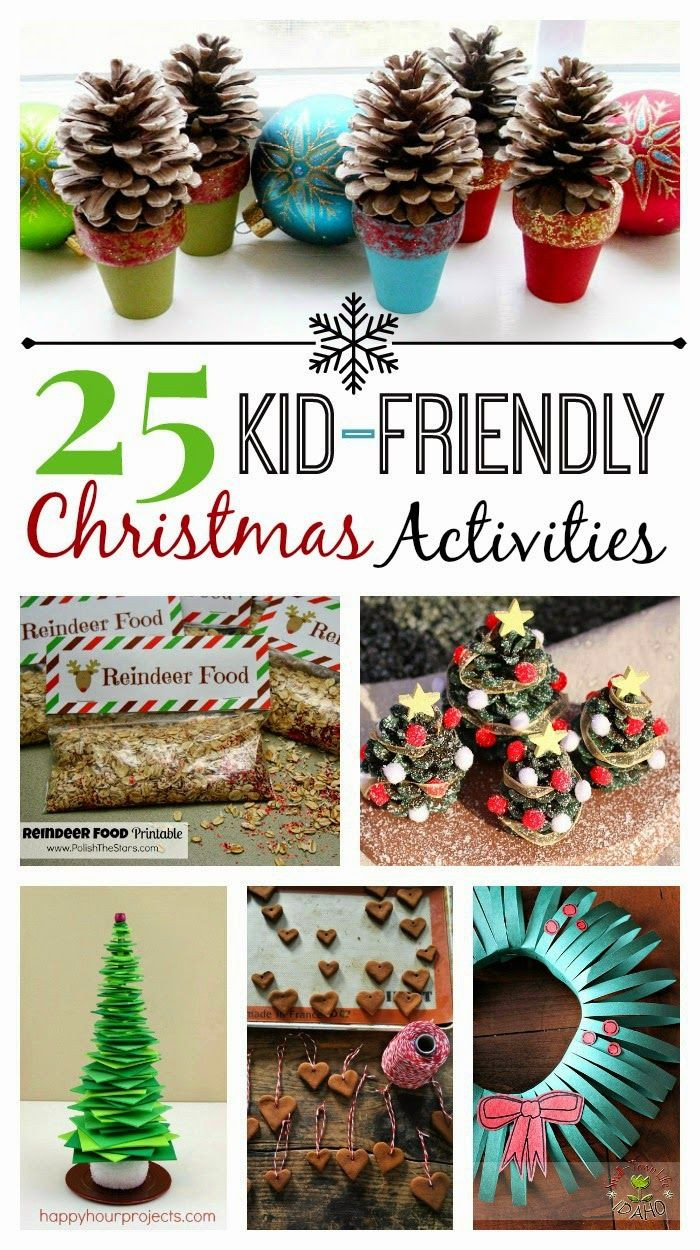 Best ideas about DIY Kid Friendly Christmas Ornaments . Save or Pin DIY IDEAS 25 Kid Friendly Christmas Activities Now.
