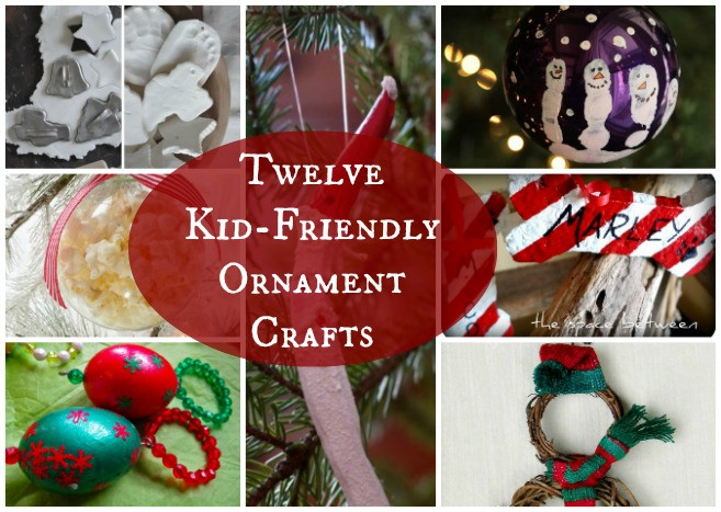 Best ideas about DIY Kid Friendly Christmas Ornaments . Save or Pin Mommy and Me Activities 12 DIY Christmas Ornaments Now.