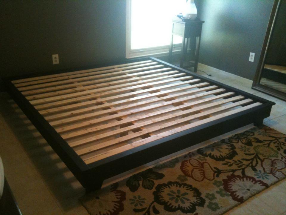 Best ideas about DIY King Bed Frame Plans . Save or Pin King Bed Platform Diy PDF Woodworking Now.