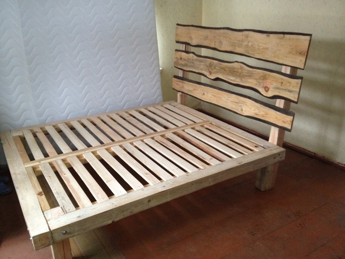Best ideas about DIY King Bed Frame Plans . Save or Pin King Size Bed Frame Plans Now.