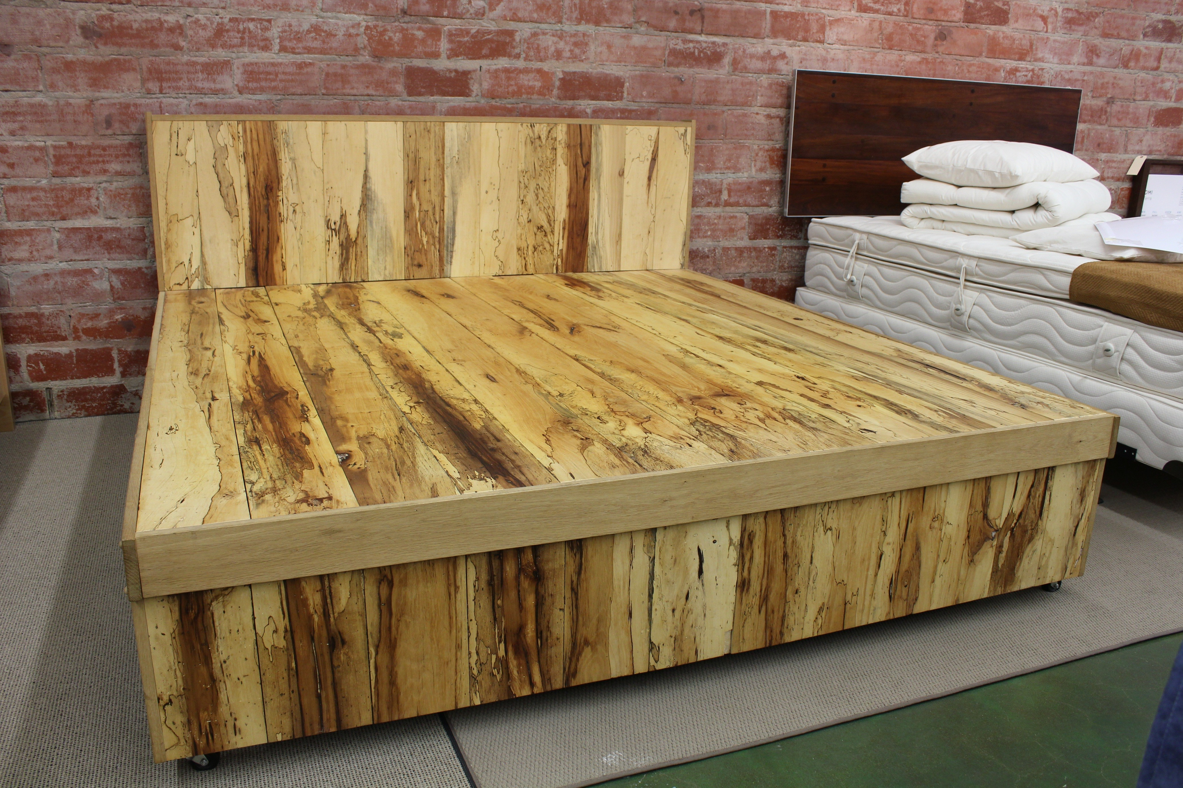 Best ideas about DIY King Size Bed Frame Plans . Save or Pin 20 King Size Bed Design To Beautify Your Couple s Bedroom Now.