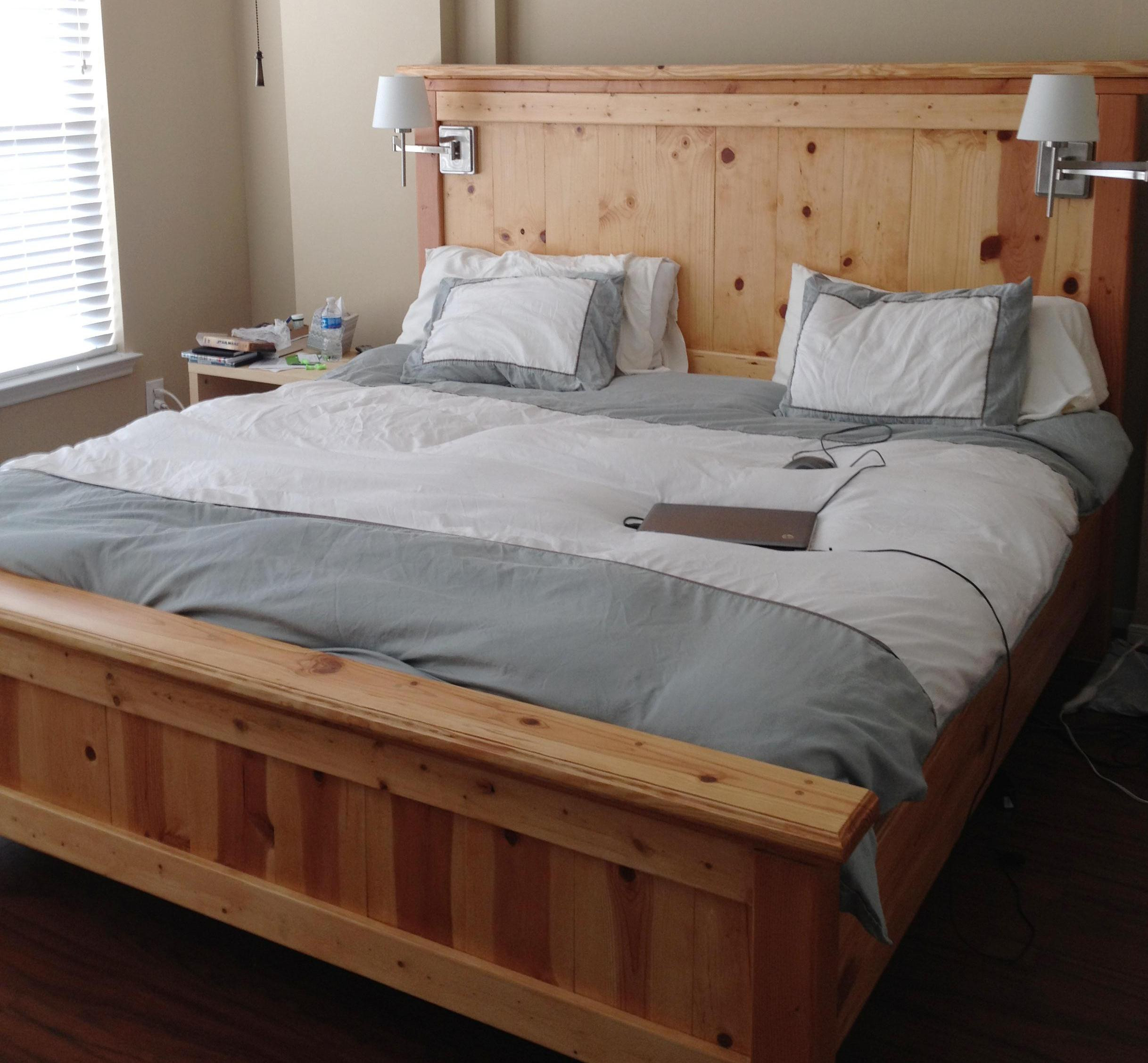 Best ideas about DIY King Size Bed Frame Plans . Save or Pin Ana White Now.