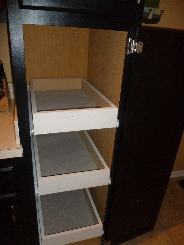 Best ideas about DIY Kitchen Cabinet Drawers . Save or Pin How to build pull out pantry shelves Now.