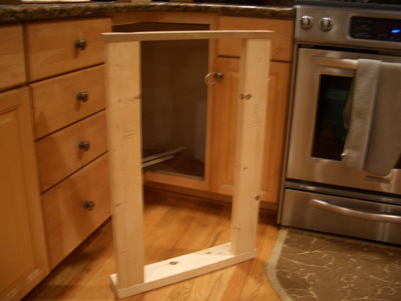 Best ideas about DIY Kitchen Cabinet Drawers . Save or Pin DIY Corner Cabinet Drawers Now.