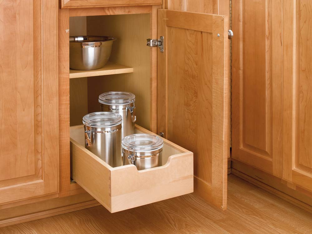 Best ideas about DIY Kitchen Cabinet Drawers . Save or Pin 12 inch Wood Pull Out Shelf 4WDB 12 Now.