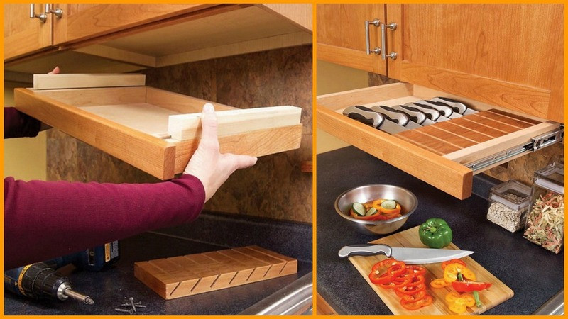Best ideas about DIY Kitchen Cabinet Drawers . Save or Pin Easy DIY Kitchen Storage Ideas Now.