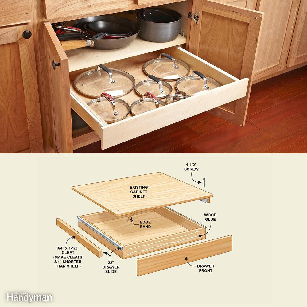 Best ideas about DIY Kitchen Cabinet Drawers . Save or Pin 30 Cheap Kitchen Cabinet Add s You Can DIY Now.