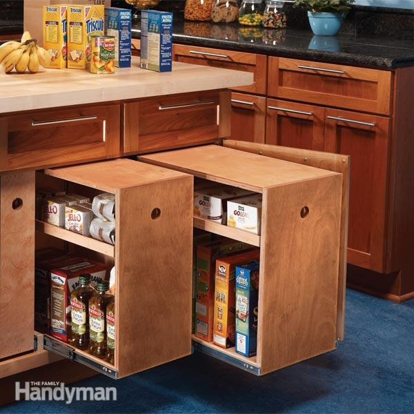 Best ideas about DIY Kitchen Cabinet Drawers . Save or Pin Build Organized Lower Cabinet Rollouts for Increased Now.