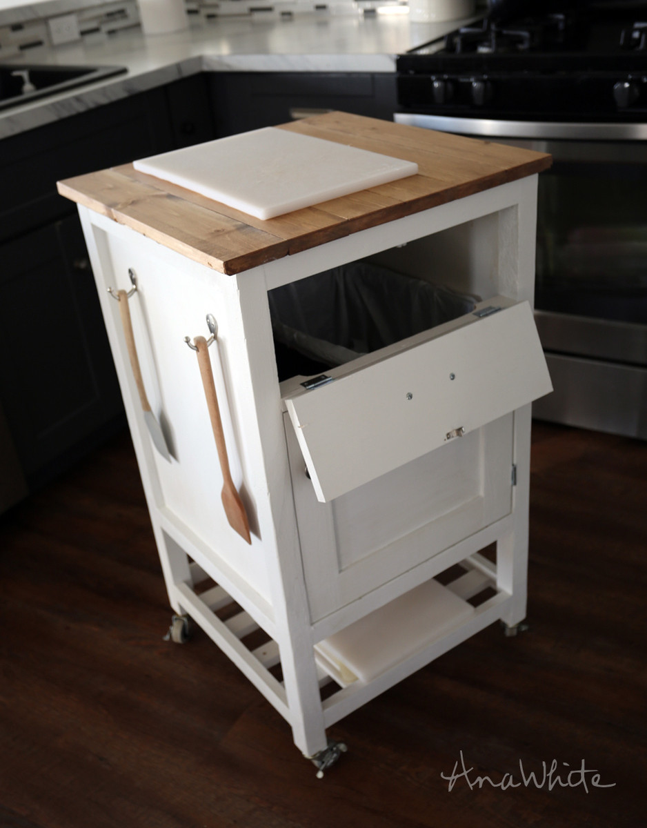 Best ideas about DIY Kitchen Cart . Save or Pin Ana White Now.