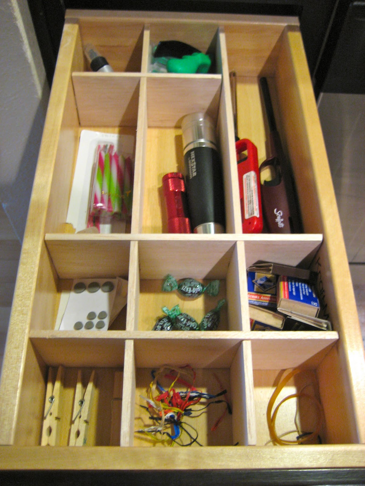 Best ideas about DIY Kitchen Drawer Dividers . Save or Pin C R A F T 72 Drawer Organizer Part 2 C R A F T Now.