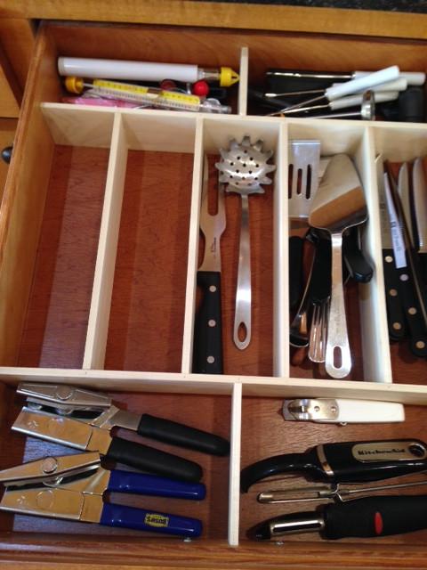 Best ideas about DIY Kitchen Drawer Dividers . Save or Pin DIY Kitchen Drawer Organizer Lynn s Kitchen Adventures Now.
