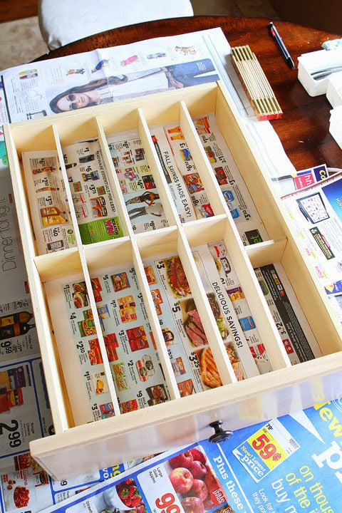 Best ideas about DIY Kitchen Drawer Dividers . Save or Pin Meu Sossego Now.