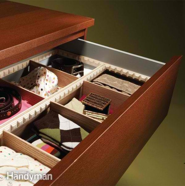 Best ideas about DIY Kitchen Drawer Dividers . Save or Pin DIY Drawer Dividers Ideas DIY Projects Craft Ideas & How Now.