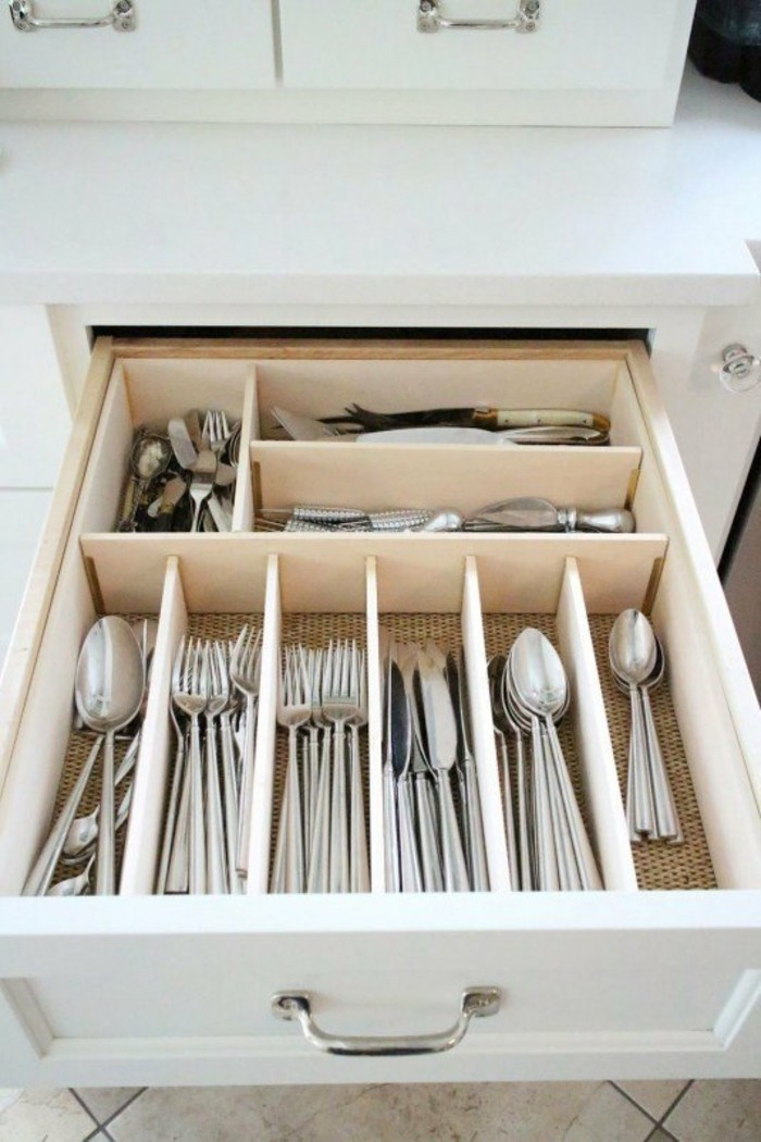 Best ideas about DIY Kitchen Drawer Dividers . Save or Pin Small Kitchen Set Up And Save Space – 20 DIY Ideas – Fresh Now.