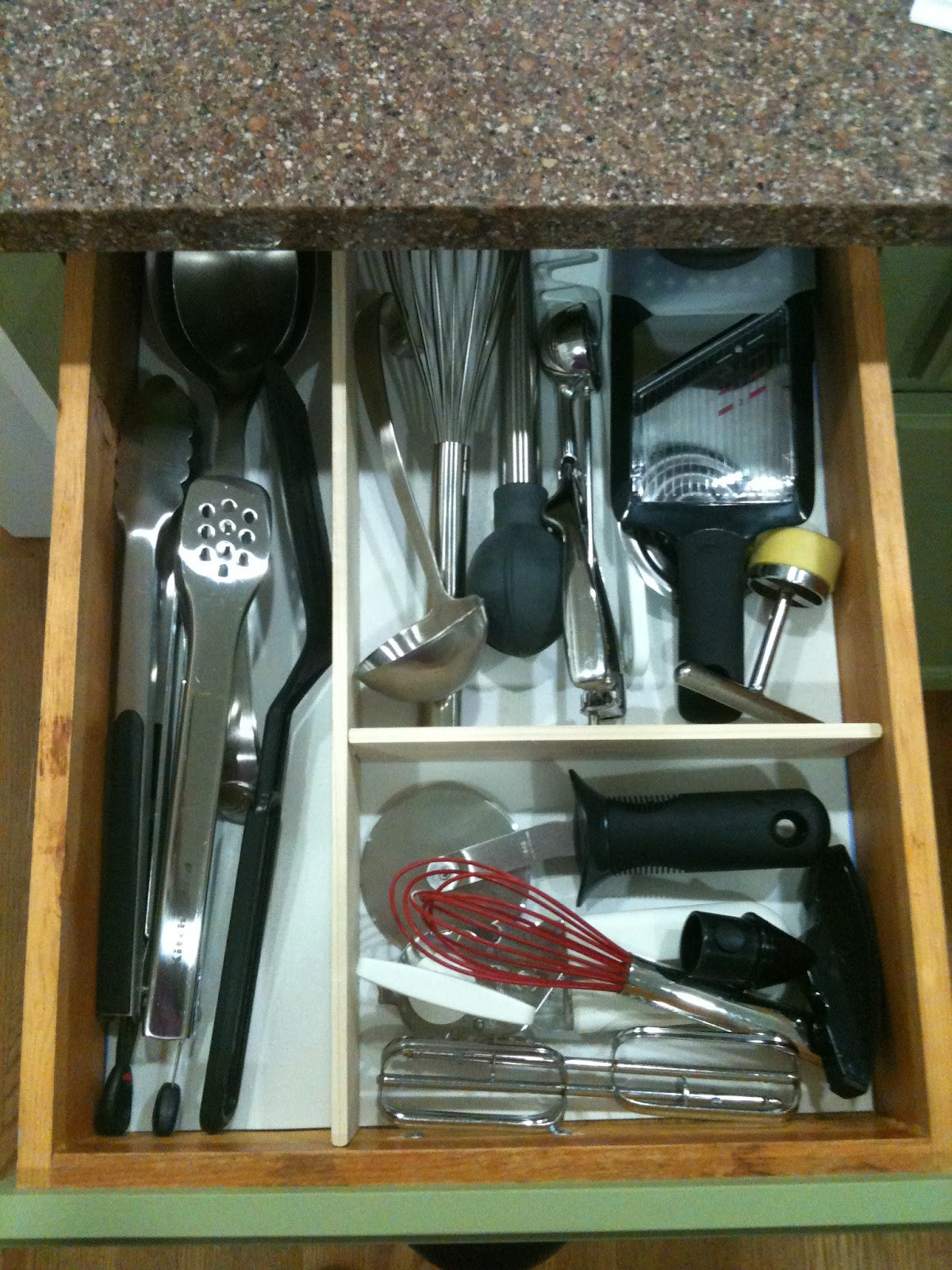 Best ideas about DIY Kitchen Drawer Dividers . Save or Pin Biddle Bits Easy DIY kitchen drawer dividers Now.