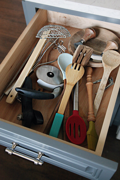 Best ideas about DIY Kitchen Drawers . Save or Pin IHeart Organizing Four Days & Four Drawers Mini Now.
