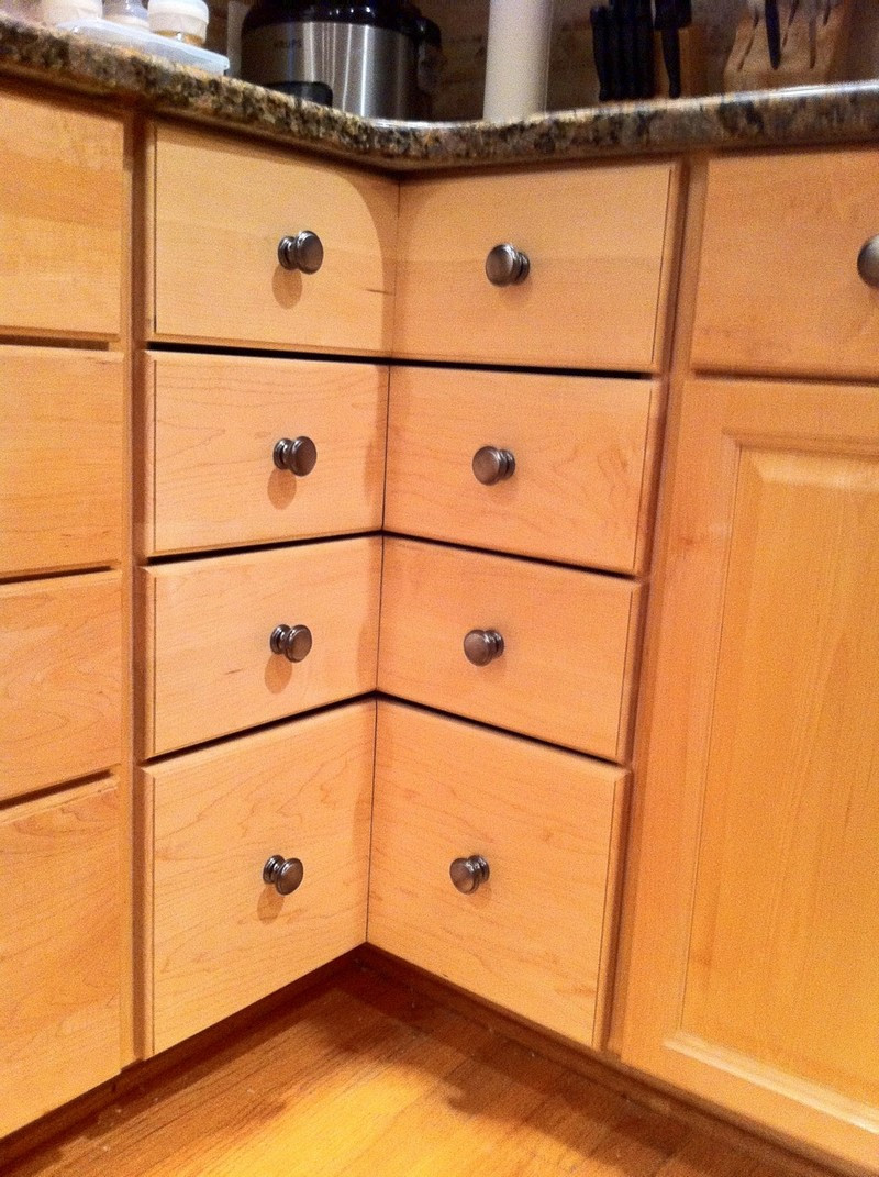 Best ideas about DIY Kitchen Drawers . Save or Pin DIY Corner Cabinet Drawers – The Owner Builder Network Now.