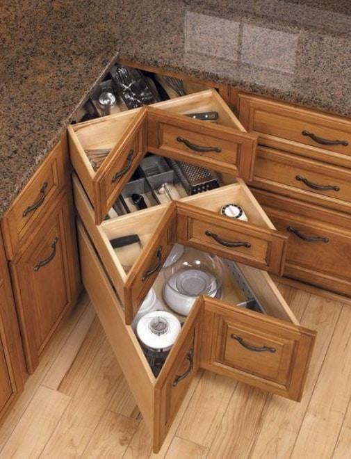 Best ideas about DIY Kitchen Drawers . Save or Pin DIY Corner Kitchen Drawers Now.