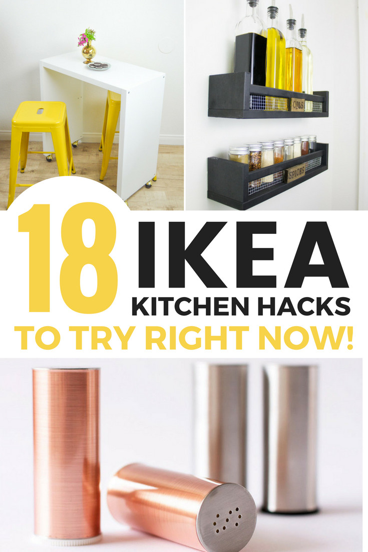 Best ideas about DIY Kitchen Hacks . Save or Pin 18 Simple IKEA Kitchen Hacks Now.