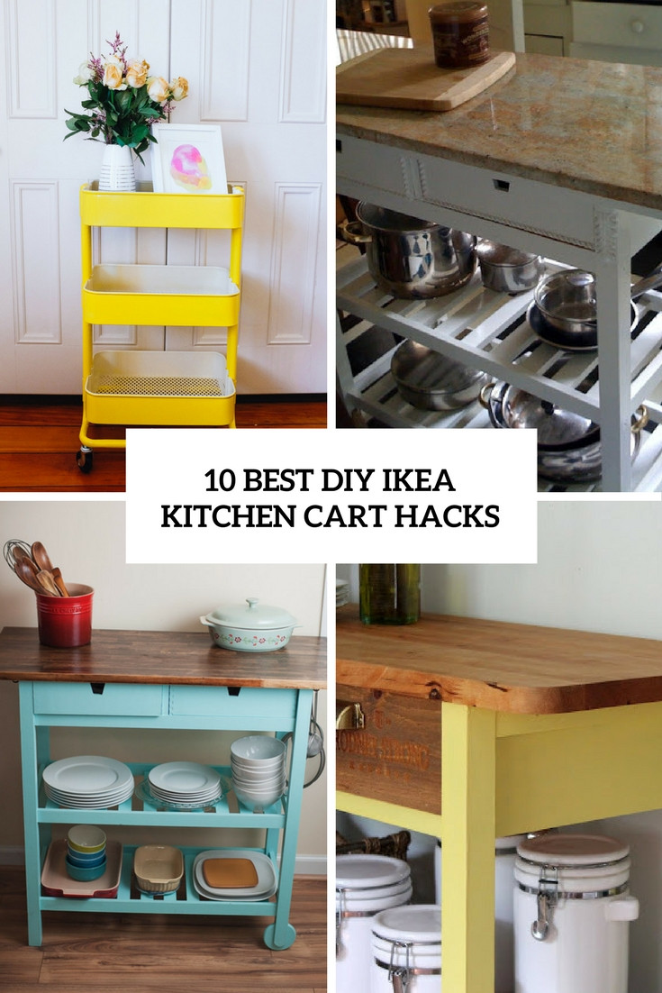 Best ideas about DIY Kitchen Hacks . Save or Pin Bekvam Kitchen Cart Hack – Wow Blog Now.