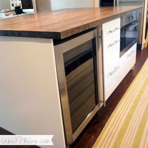 Best ideas about DIY Kitchen Island Ikea . Save or Pin DIY Kitchen Island base is Ikea cabinets butcher block Now.
